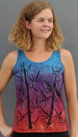 Bamboo Sunset Tank Top