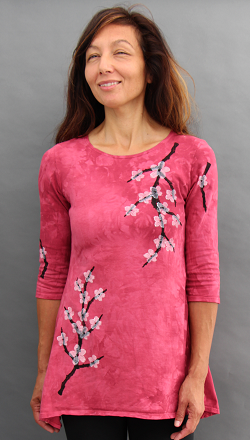 Cherry Blossom Trapeze Top