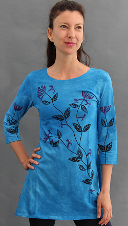 Honeysuckle Trapeze Top