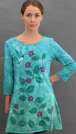 Hummingbird Trapeze Top