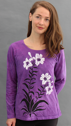 Lily Long Sleeve Roundneck
