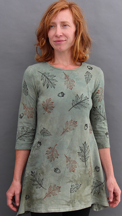 Oak Leaves Trapeze Top