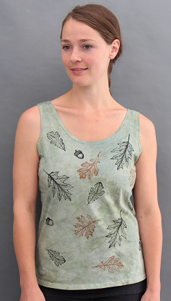 Oak leaves tank top
