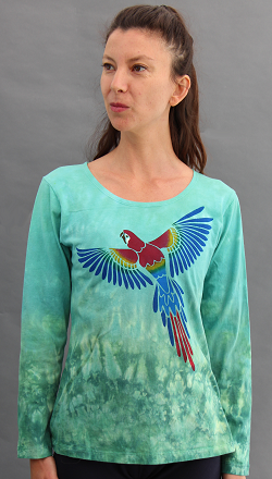 Parrot Long Sleeve Roundneck