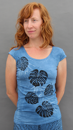Philodendron Cap Sleeve Top