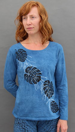 Philodendron Long Sleeve Roundneck