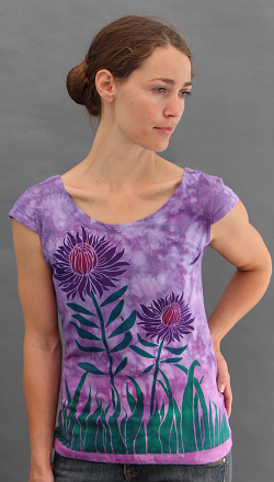 Protea Cap sleeve top