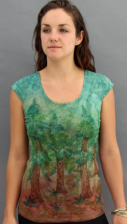 Redwood Grove Cap Sleeve Top